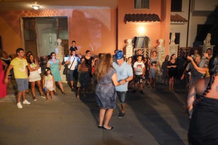 la serenata a Lecce organizzata da Paolo e Dalila Live