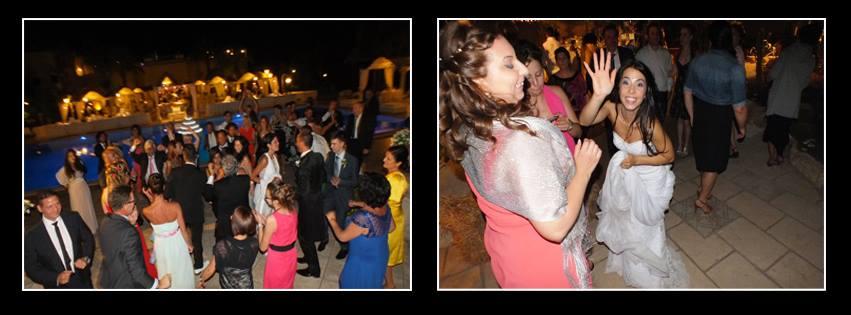 Paolo e Dalila Live anuiìimazione matrimonio Lecce con dj set con musica disco 70/80