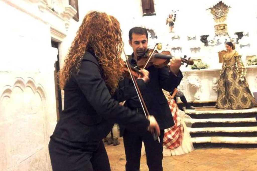 Musica crimonia rito religioso