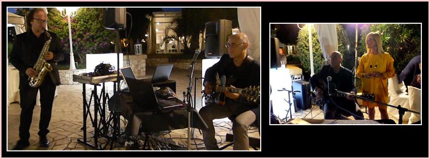 musica per l'attesa degli sposi al ristorante per un matrimonio a Lecce e provincia