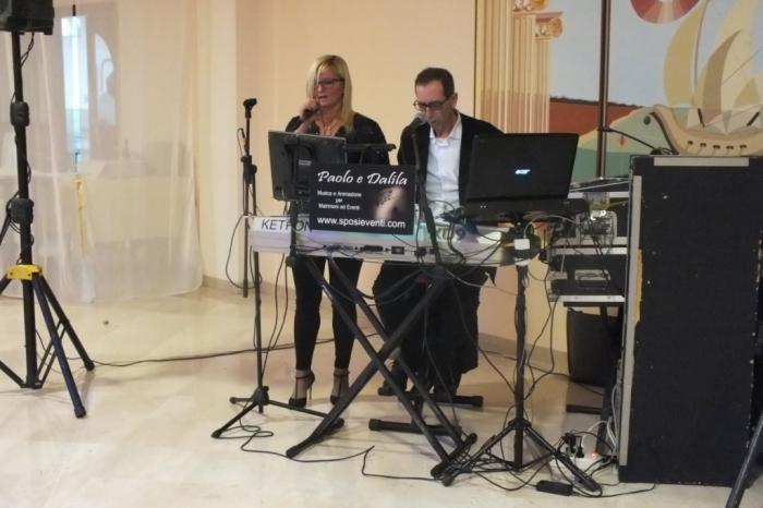 Gruppo musicale per la musica matrimonio Lecce, Paolo e Dalila Live