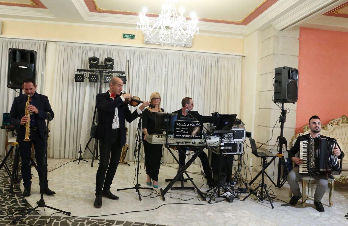 Paolo e Dalila Live musicisti specializzati in musica per matrimonio Lecce e Provincia