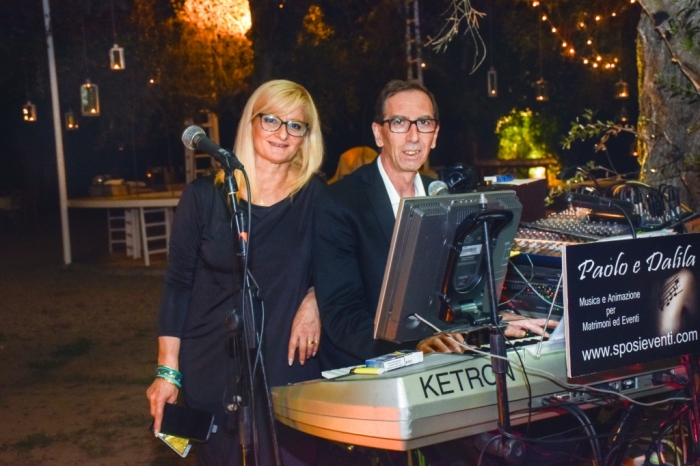 Musica per matrimonio Lecce Band di Paolo e Dalila Live