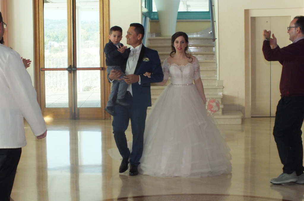 Coppia di sposi Italo-Peruviana che hanno scelto il salento per il matrimonio