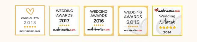 Premi e riconoscimenti al gruppo musicale che si occupa di musica e animazione matrimoni Lecce Paolo e Dalila Live