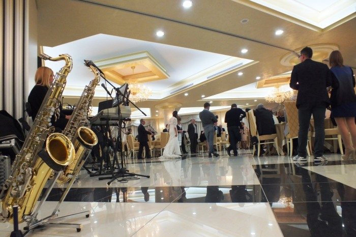 Matrimonio in Provincia di Cosenza con la Band di Paolo e Dalila Live con sax e violino