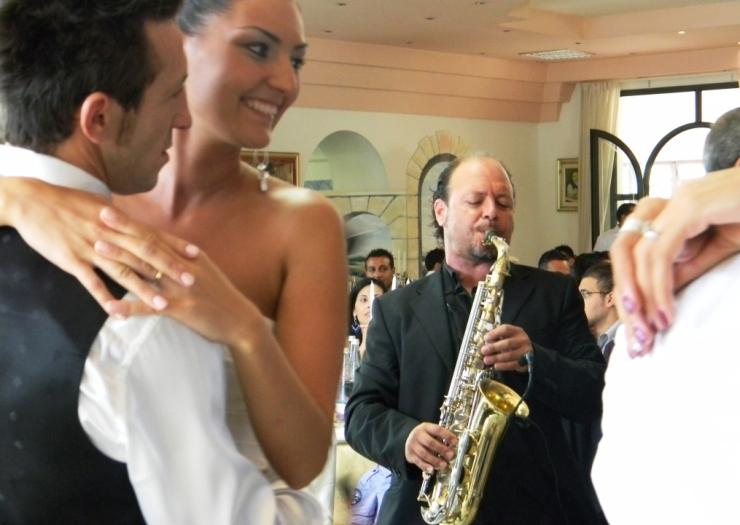 Musica matrimonio Lecce con la Band con sax di Paolo e Dalila Live