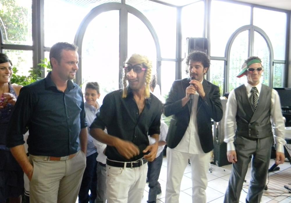 gruppo musicale con cabarettista per l'animazione del matrimonio in Provincia di Lecce