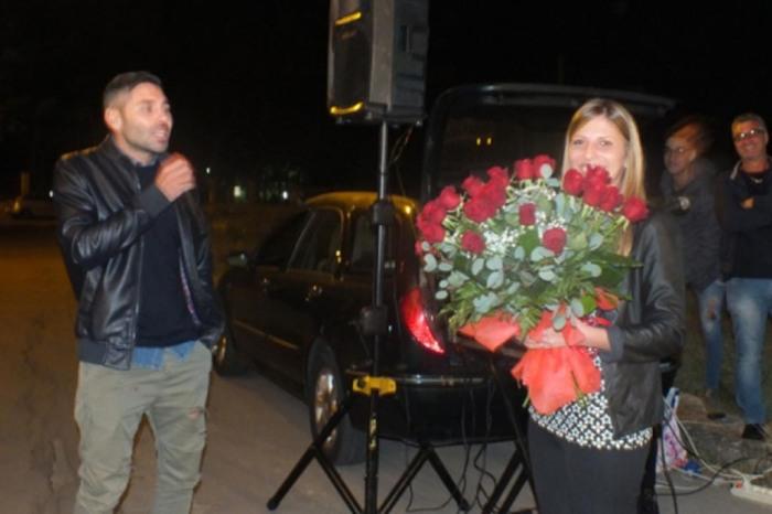Melissano Lecce serenata sposo sposa