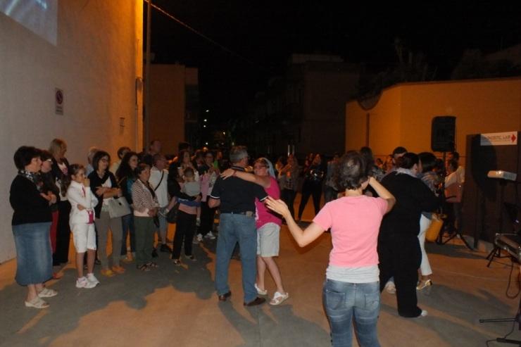 musicisti che organizzano la serenata alla sposa a Rutigliano in provincia di Bari