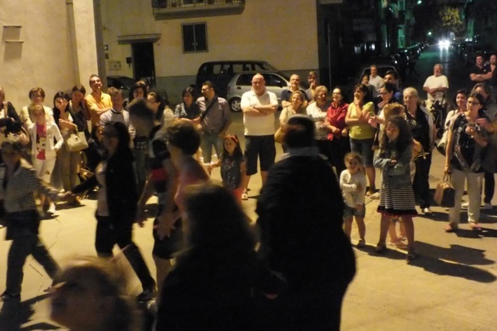 Musicisti per la serenata alla sposa a Rutigliano in Provincia di Bari