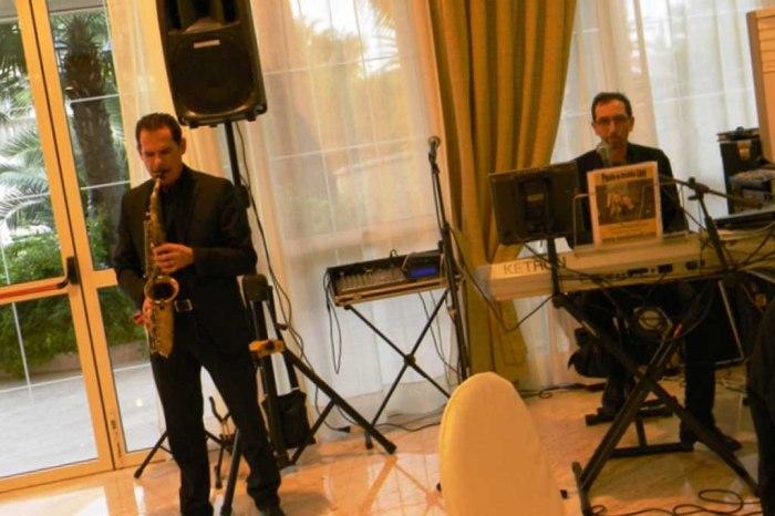 Sassofonista musica matrimonio Foggia