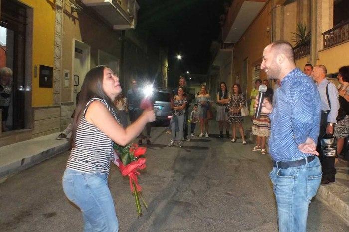 Sava Taranto serenata sposa