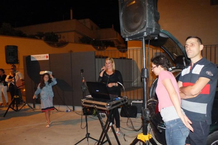 La serenata per la sposa realizzata in Provincia di Bari da Paolo e Dalila Live
