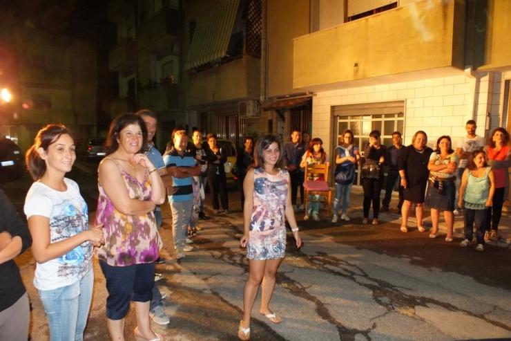 Con la musica del gruppo di Paolo e Dalila Live è stata organizzata una serenata particolare a Francavila Fontana in provincia di Brindisi
