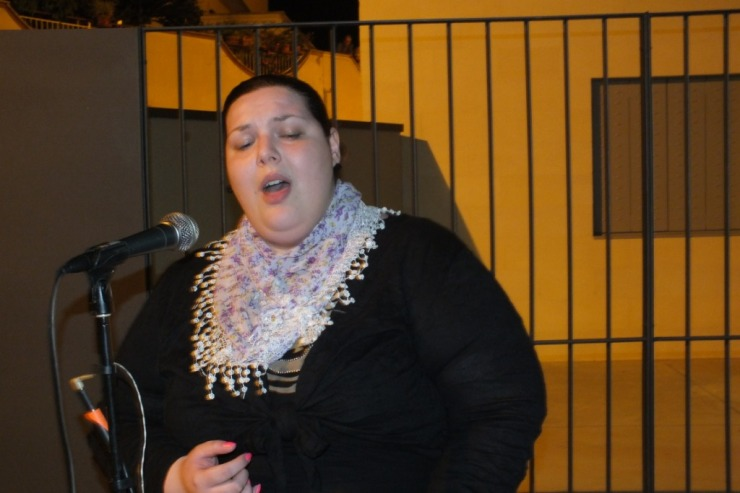 Cantante per la serenata alla sposa a Rutigliano in Provincia di Bari