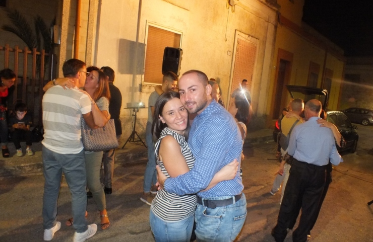 La serenata per la sposa organizzata a Taranto