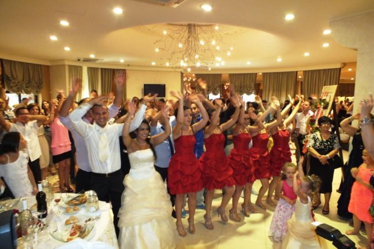 Gruppo di musicisti per musica e animazione matrimonio a Villa Hollywood a Ruffano in Provincia di Lecce