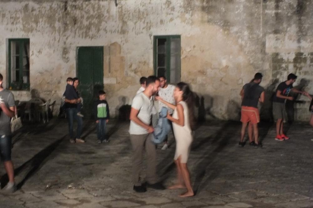 la serenata a Salice Salentino in Provincia di Lecce