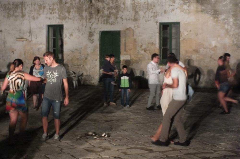 musicisti per la serenata in Provincia di Lecce