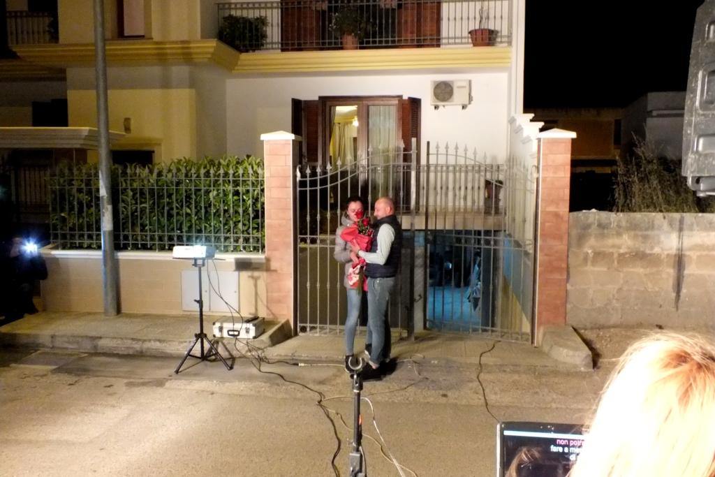 Paolo e Dalila Live musicisti per la serenata a Manduria in Provincia di Taranto