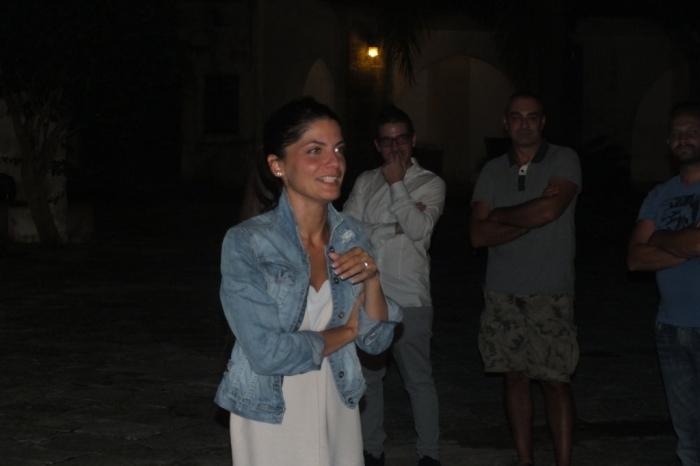 Masseria Mazzetta a Salice Salentino lo sposo organizza la serenata