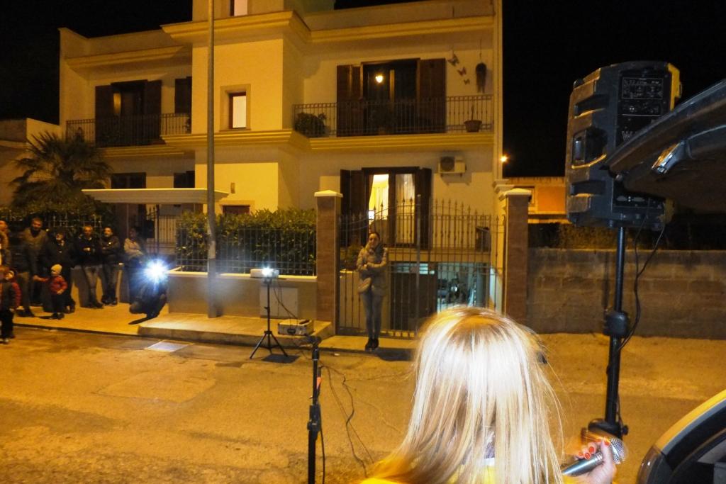 Organizzata la serenata a Manduria in Provincia di Taranto per fare una sorpresa alla sposa