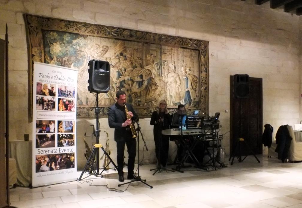 Matrimonio a Lecce presso torre del Parco con la musica del gruppo di Paolo e Dalila Live