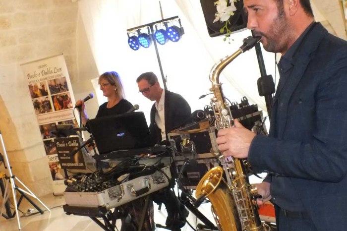 band con sax matrimonio Lecce
