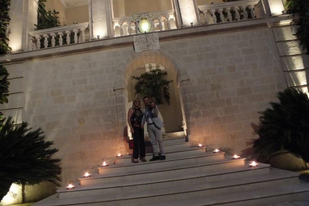 musica matrimonio Taranto band con violino e sax Paolo e Dalila Live