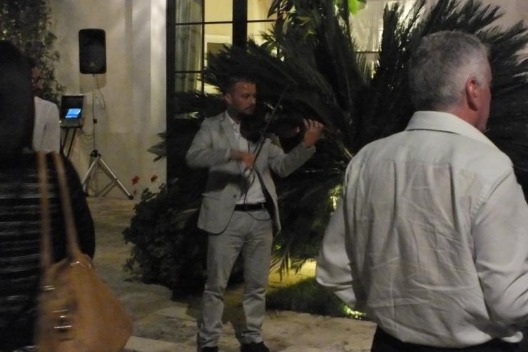 matrimonio a Taranto e Provincia con la musica del violinista della band di Paolo e Dalila live