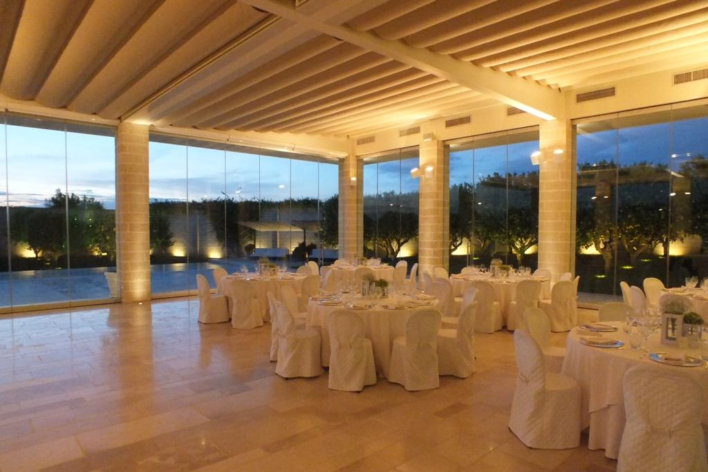 Masseria Ciura a Massafra sala ricevimenti per matrimonio