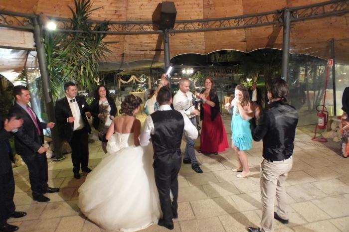 L'animazione del matrimonio a Villa Diana lecce