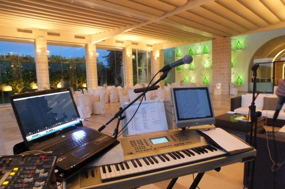 Gruppo musicale per la musica del matrimonio alla Masseria Ciura