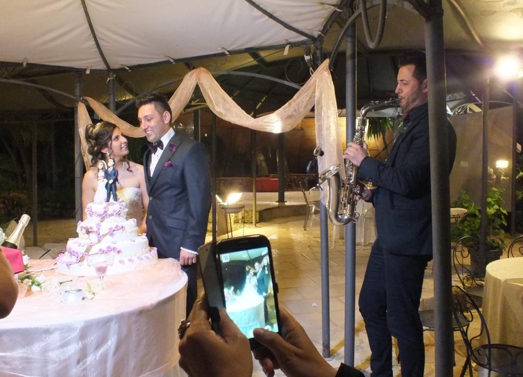 Gruppo musicale con sax per la musica dei matrimoni a Lecce e provincia