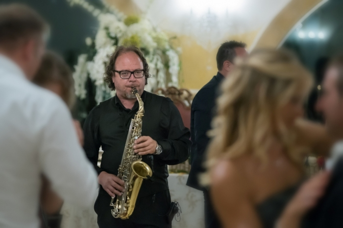 Sax per la musica elegante al matrimonio in Provincia di Lecce