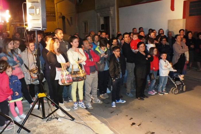 Musicisti che organizzano la serenata in provincia di Brindisi
