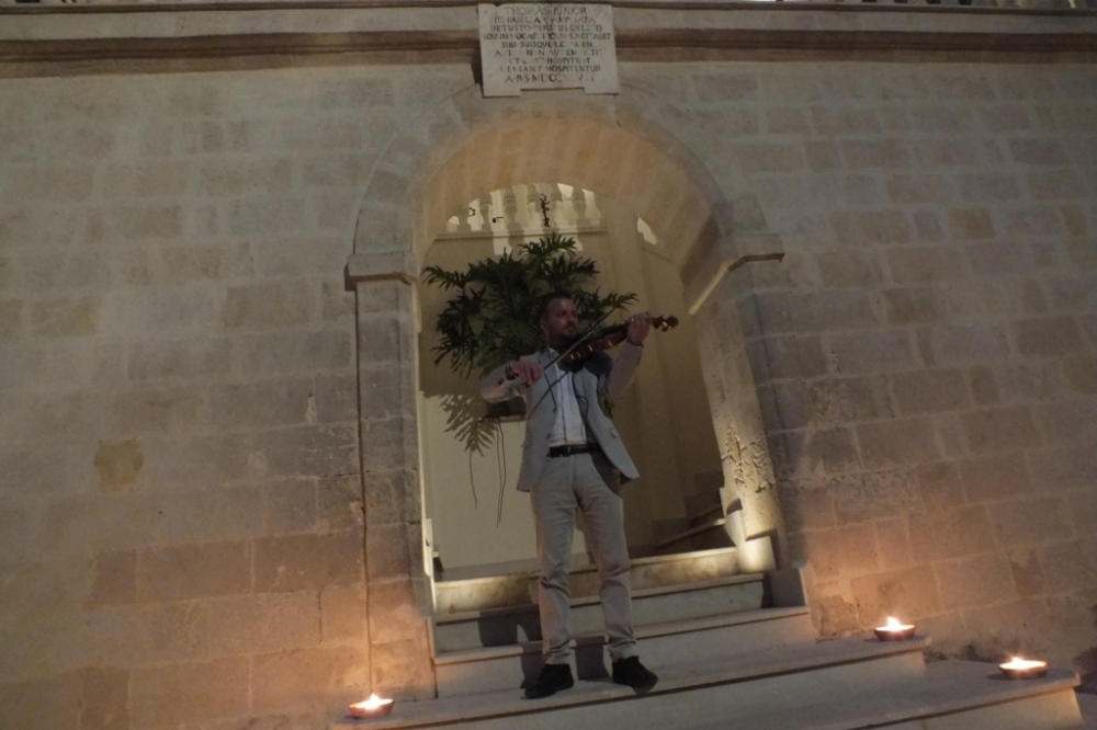 Musica con il violinista per il matrimonio a Taranto e Provincia