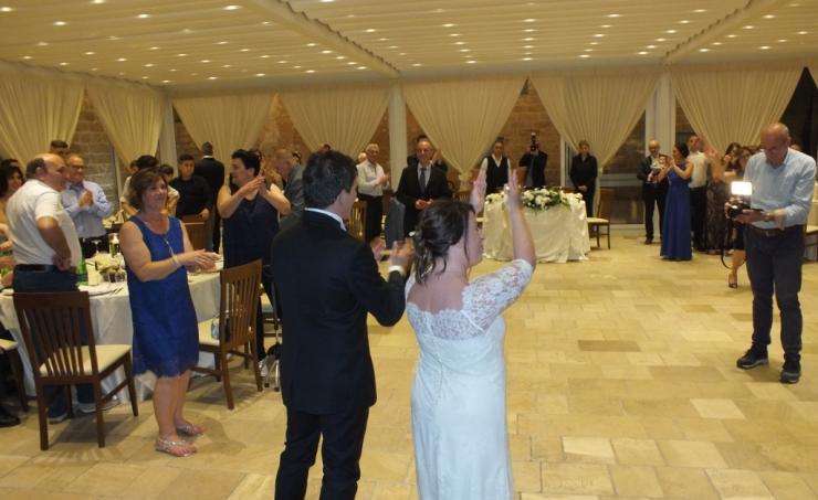 Relais Santa Teresa Gallipoli matrimonio con la musica del gruppo di Paolo e Dalila Live
