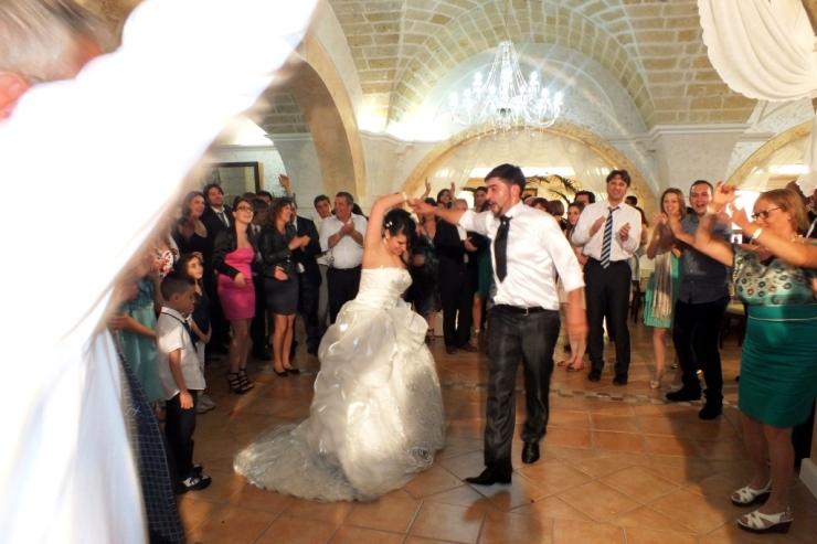 Sala ricevimenti Tenuta Donna Sandra a Veglie matrimoniio