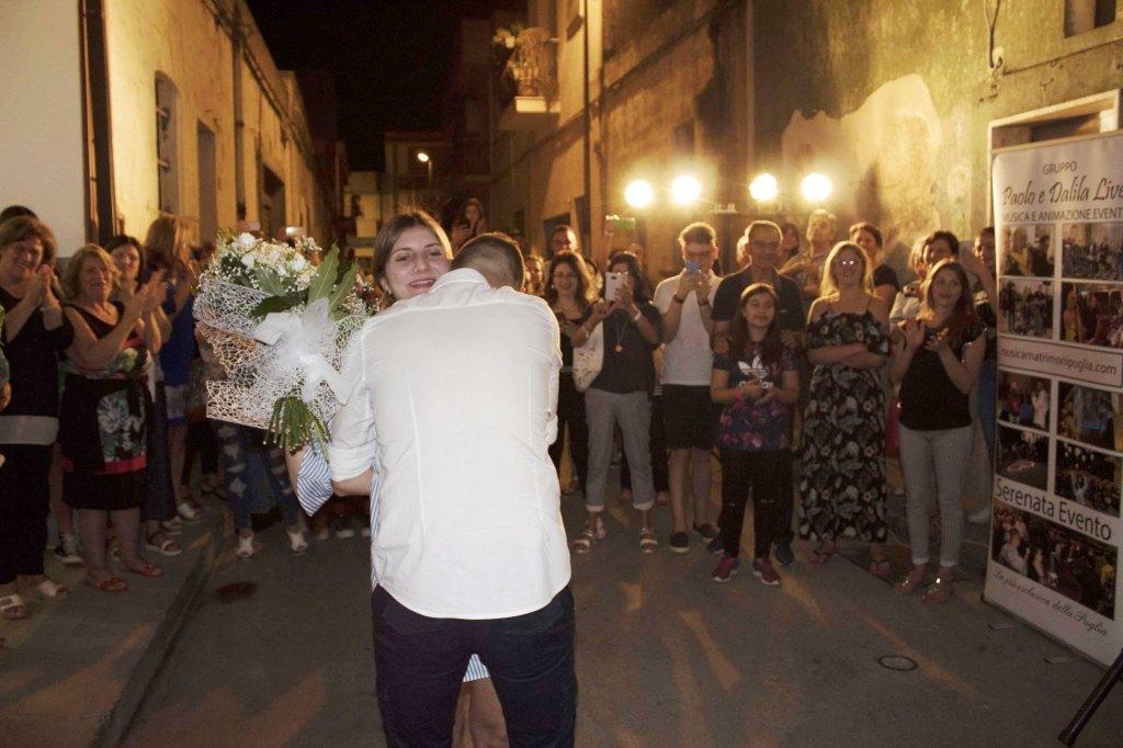 Provincia di Taranto San MArzano di San Giuseppe la serenata alla sposa
