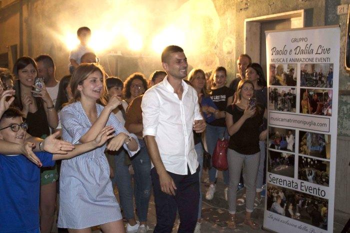 cantanto per la serenata per la sposa a Taranto e Provincia