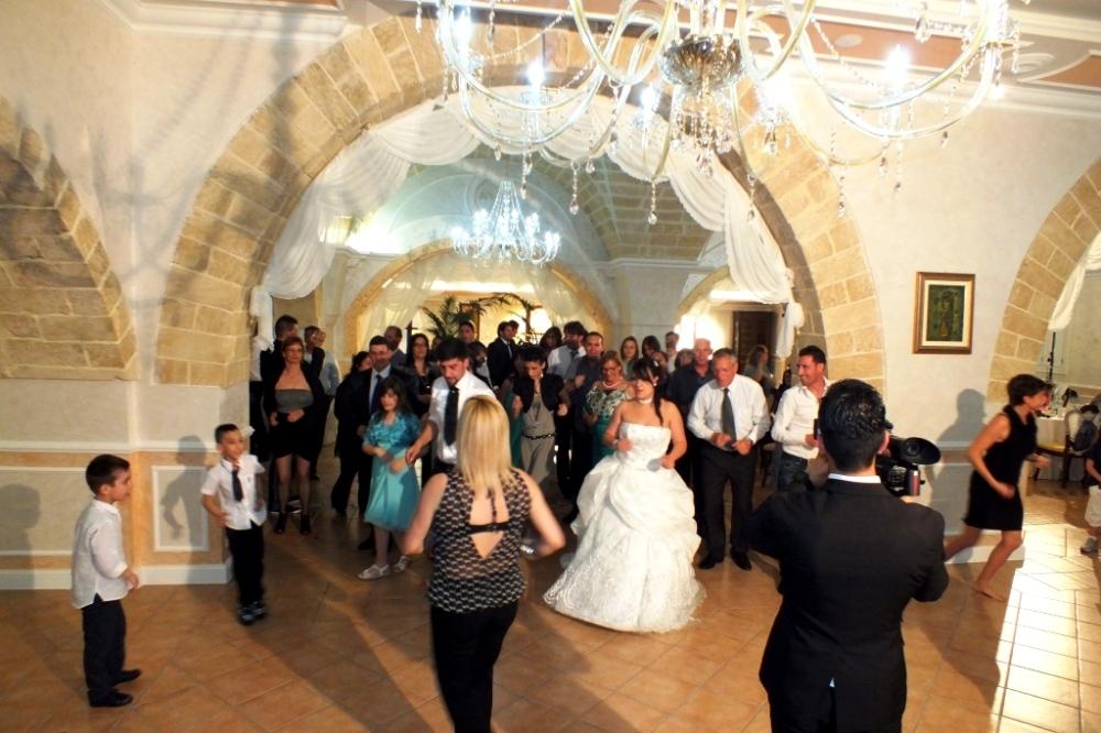 Animazione matrimonio presso la sala ricevimenti Tenuta Donna Sandra