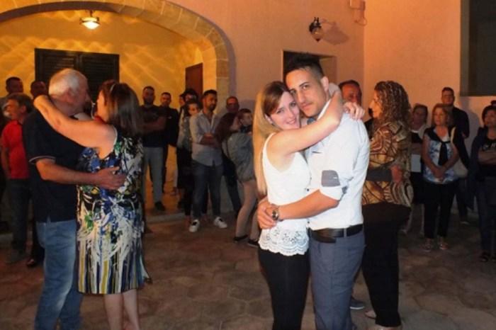 Corsano Lecce serenata sposa
