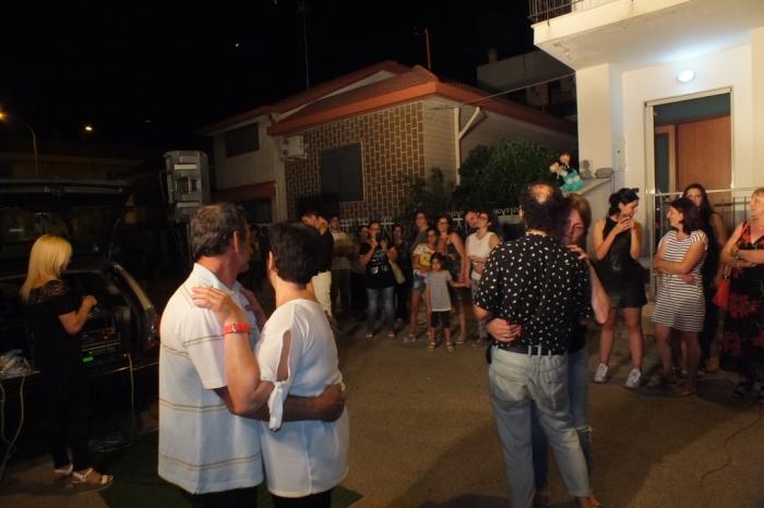 Paolo e Dalila Live musicisti che suonano durante la serenata alla sposa a Bari e Provincia