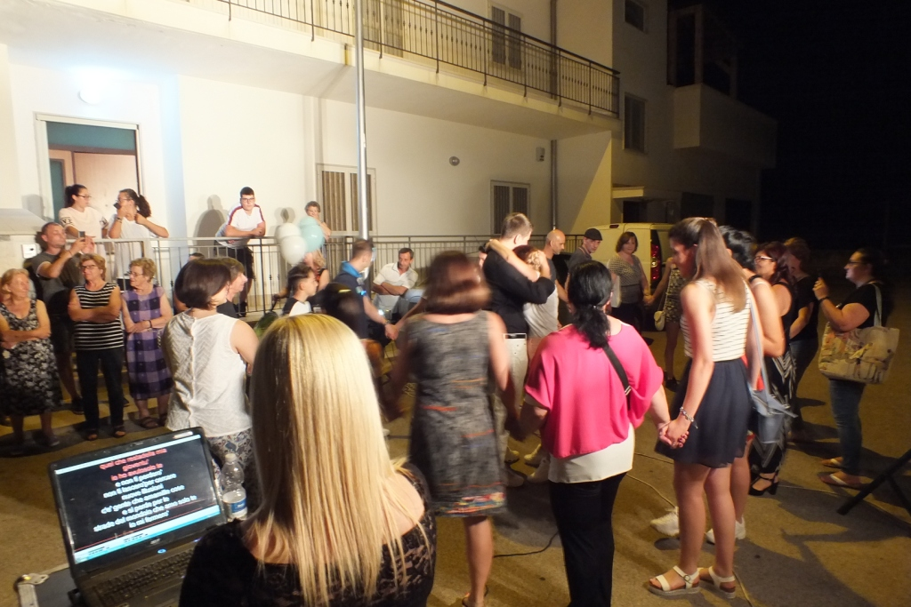 Paolo e Dalila Live organizzano la serenata pre matrimonio alla sposa a Bari e Provincia