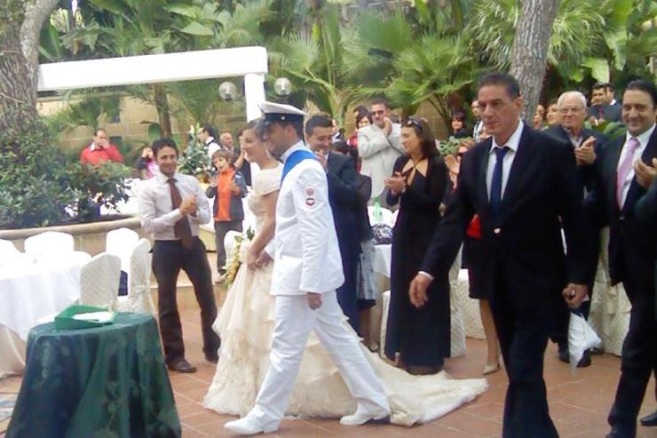 musica accoglienza sposi al'Eden Park Hotel a Pulsano