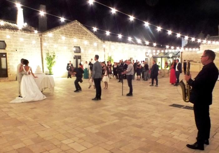 Matrimonio a Matera con la musica del gruppo di Paolo e Dalila Live