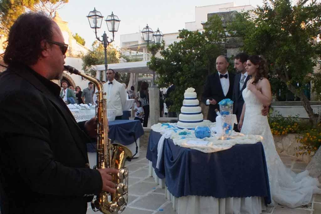 Sassofonista Parco dei Principi Ugento