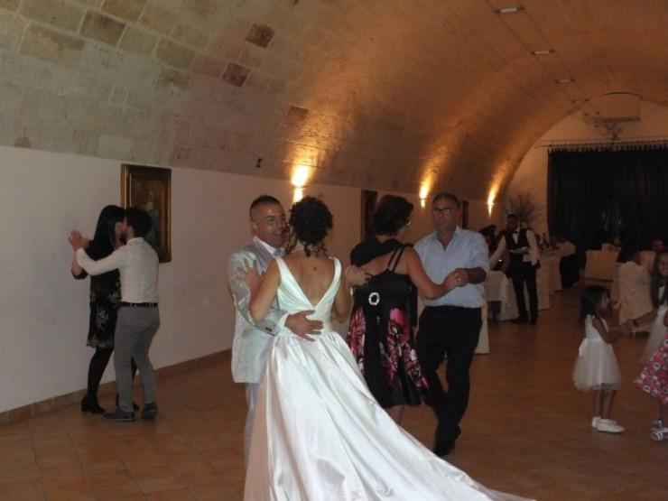 Matrimonio presso l'agriturismo Torre Spagnala a Matera con la musica del gruppo di Paolo e Dalila Live